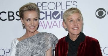 Ellen DeGeneres rushed wife Portia de Rossi to the hospital