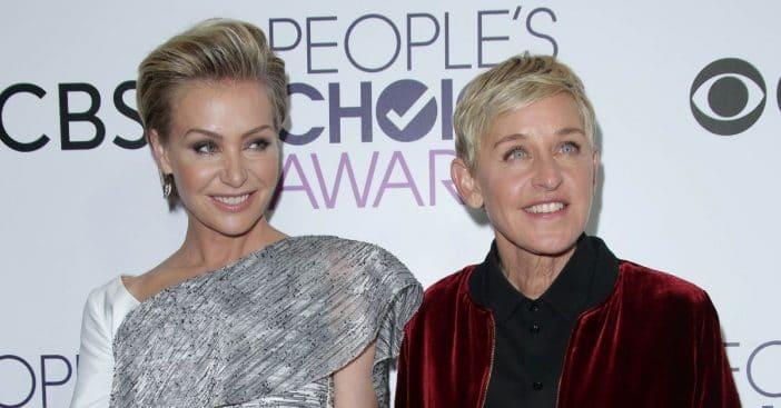 Ellen DeGeneres rushed wife Portia de Rossi to the hospital