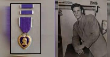 Erik Karl Blauberg's Purple Heart
