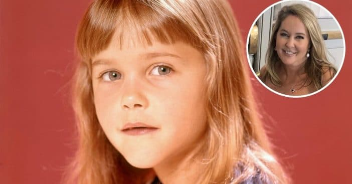 Erin Murphy from Bewitched makes a rare appearance on a red carpet