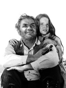 Ernest Borgnine's character helped bring some resolution to an emotionally-charged Little House episode