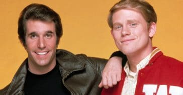 Henry Winkler and Ron Howard appeared on another sitcom together