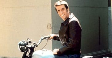 Henry Winkler never actually rode a motorcycle
