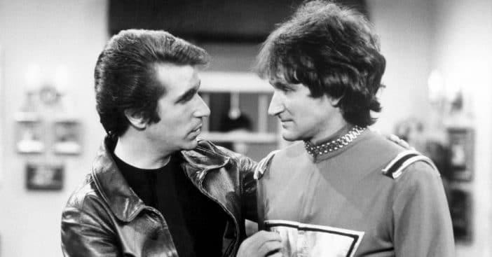 Henry Winkler talks about meeting Robin Williams