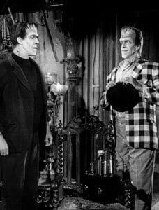 Herman and Charlie Munster