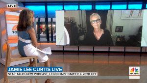 Jamie Lee Curtis spoke with TODAY to ensure those struggling with addiction that they are not alone