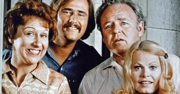 Jean Stapleton, Rob Reiner, Carroll O'Connor, and Sally Struthers