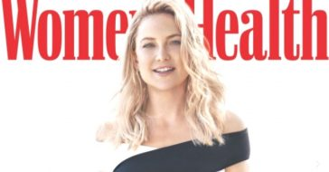 Kate Hudson shows off six pack abs