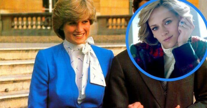 Kristen Stewart transforms into Princess Diana