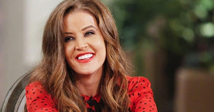 Lisa Marie Presley living with ex Danny Keough