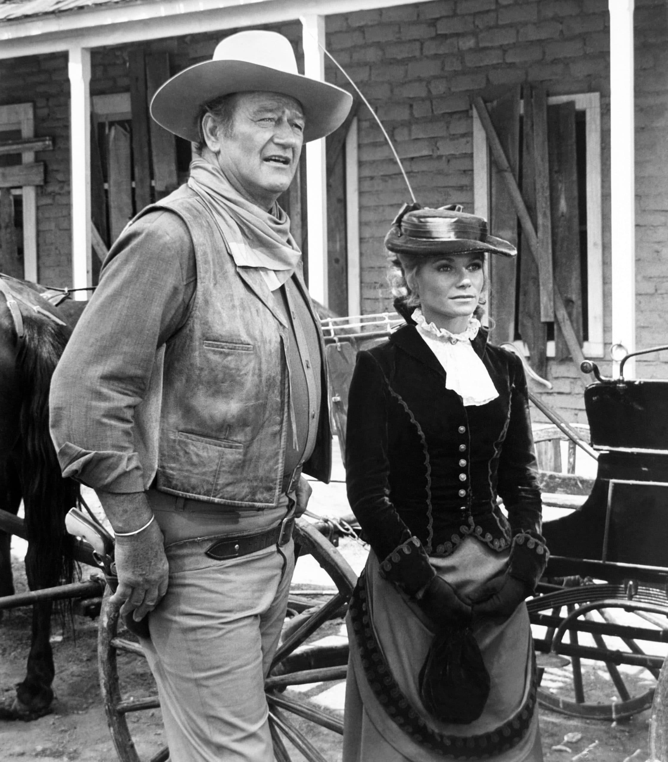 CHISUM John Wayne, Pamela McMyler western stars