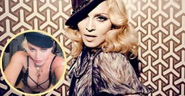 Madonna responds to Photoshop debate with lingerie selfies