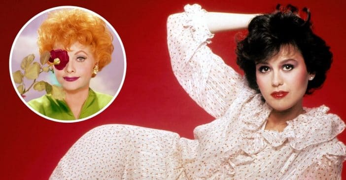 Marie Osmond was inspired by Lucille Ball