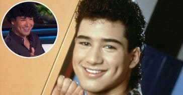 Mario Lopez recreates Saved by the Bell hairstyle