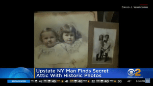 Most pictures showcased the future women's suffrage leader Susan B. Anthony, but the attic still has secrets to reveal