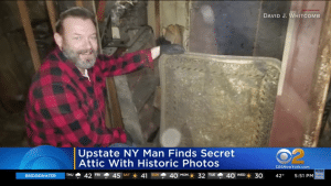 One building held a surprise attic loaded with priceless historical photos