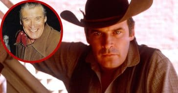 Peter Breck then and now