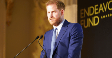 Prince Harry is further separated from his royal position