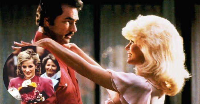 Princess Diana Thanked Burt Reynolds