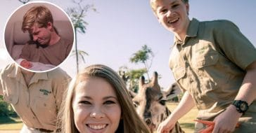 Robert Irwin shares photo with new niece