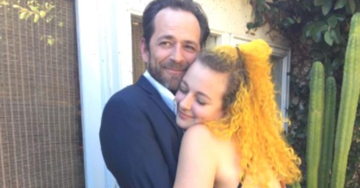 Sophie Perry shares photos of her late dad Luke Perry