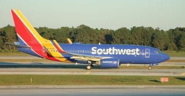 Southwest Airlines donates free flights