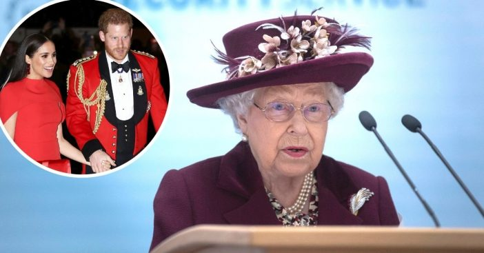 The Queen responds to Prince Harry and Meghan Markle interview