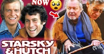 The original cast of 'Starsky and Hutch' then and now