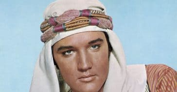 The reason Elvis Presley wore a turban