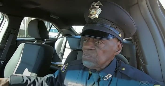 This 91-Year-Old Cop Has No Plans To Retire Anytime Soon