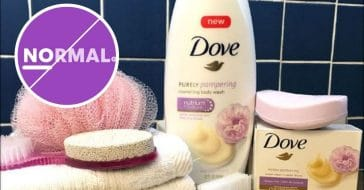 Unileaver has Dove beauty products saying no to normal