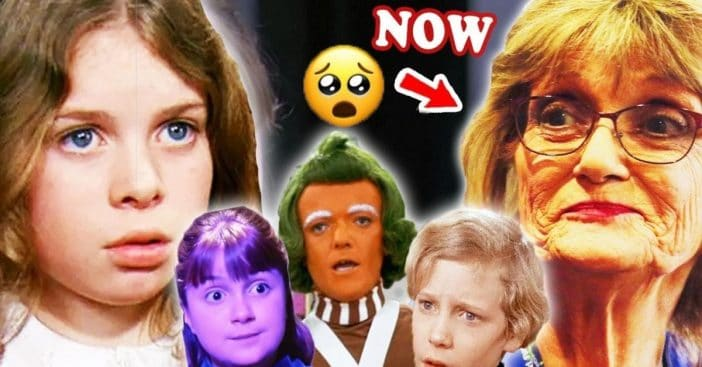 WILLY WONKA & THE CHOCOLATE FACTORY 💜 THEN AND NOW 2021