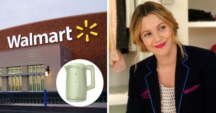 Walmart and Drew Barrymore offering retro kitchen appliances
