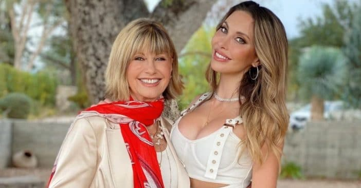 Why Olivia Newton-John And Daughter Chloe Have Been Spending Loads Of Time Together