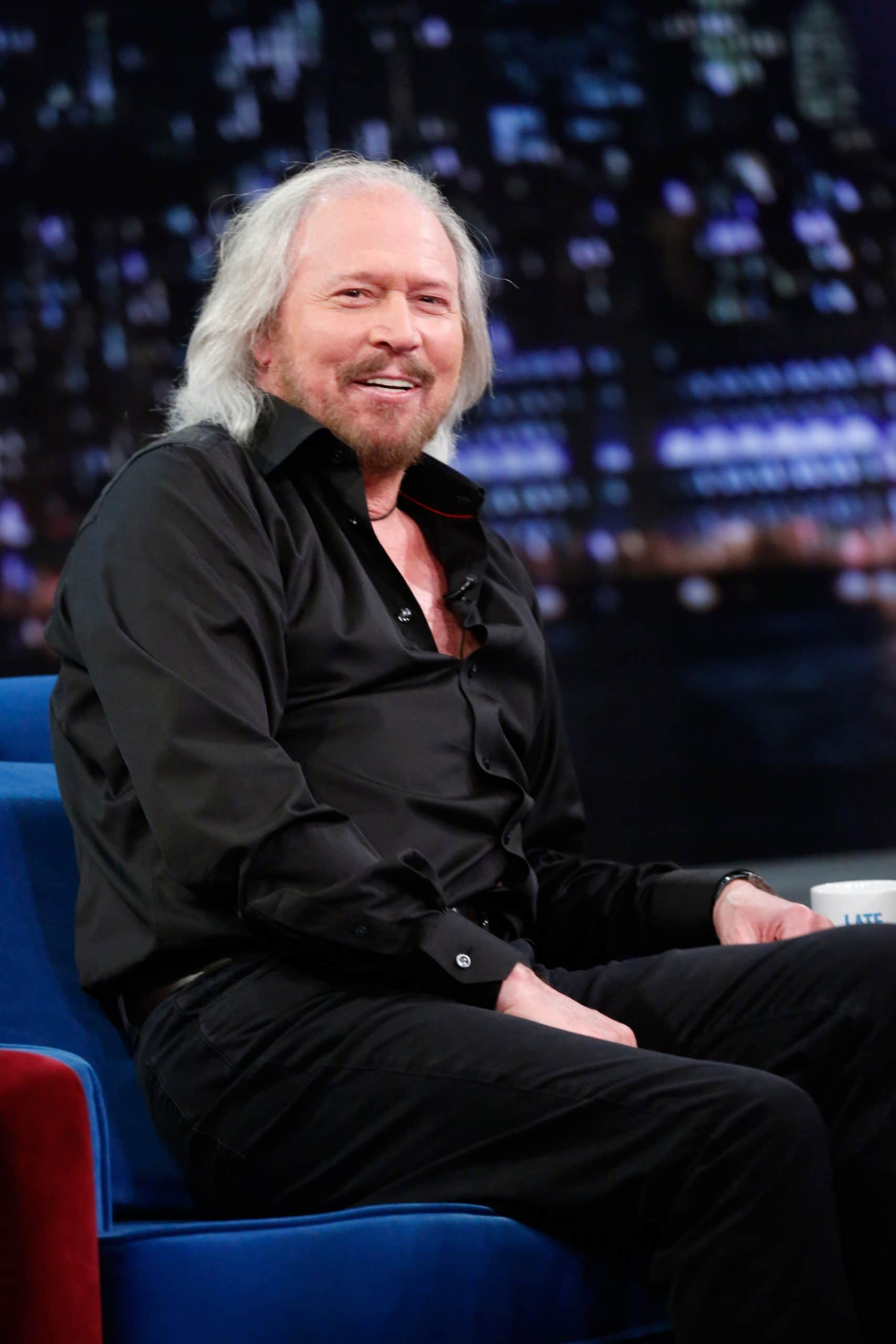LATE NIGHT WITH JIMMY FALLON, Barry Gibb