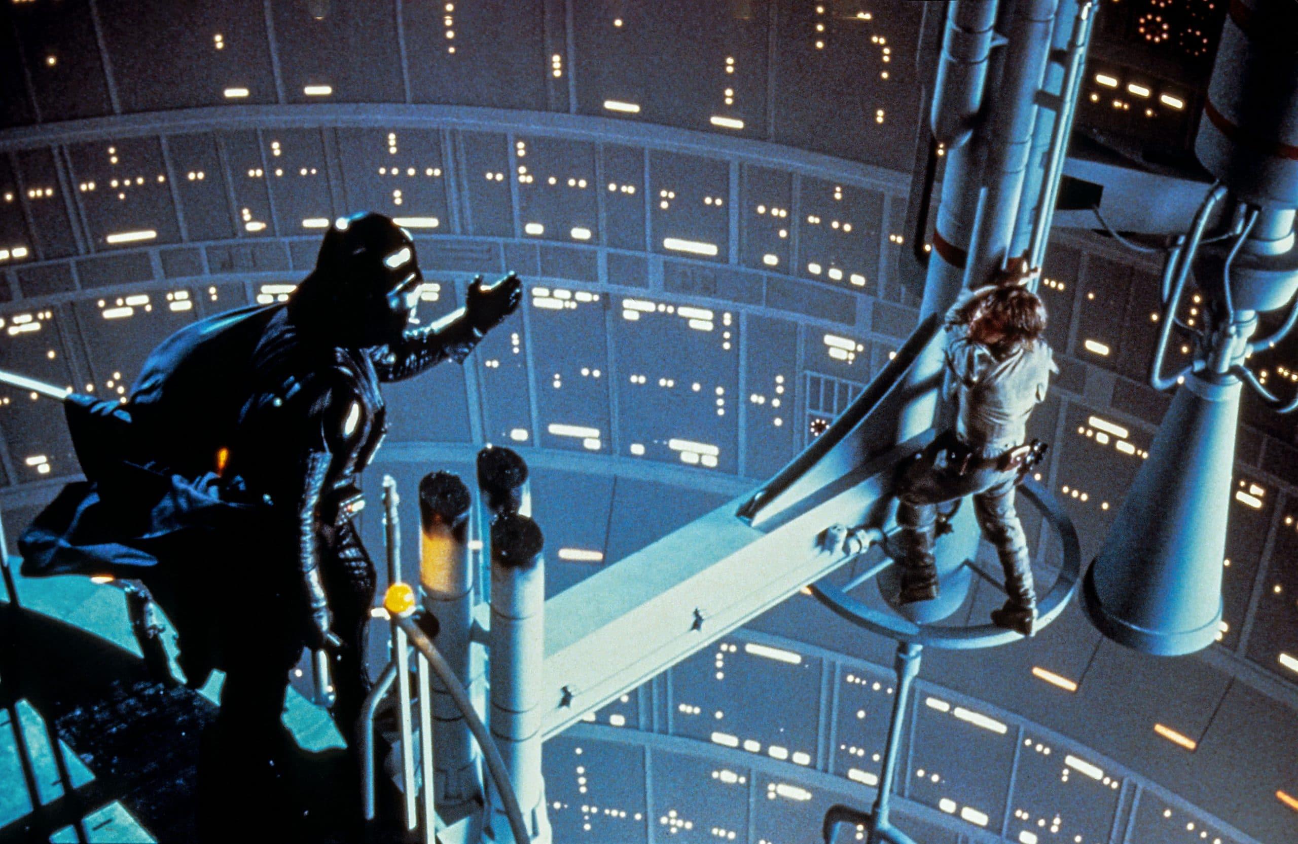 Darth Vader and Luke Skywalker star wars