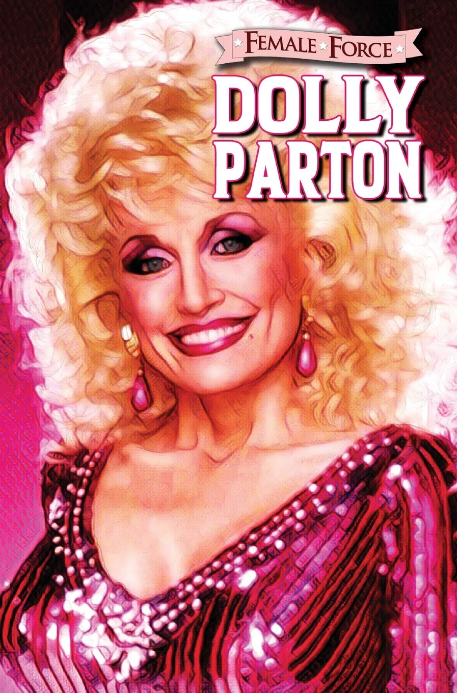 female force dolly parton comic book