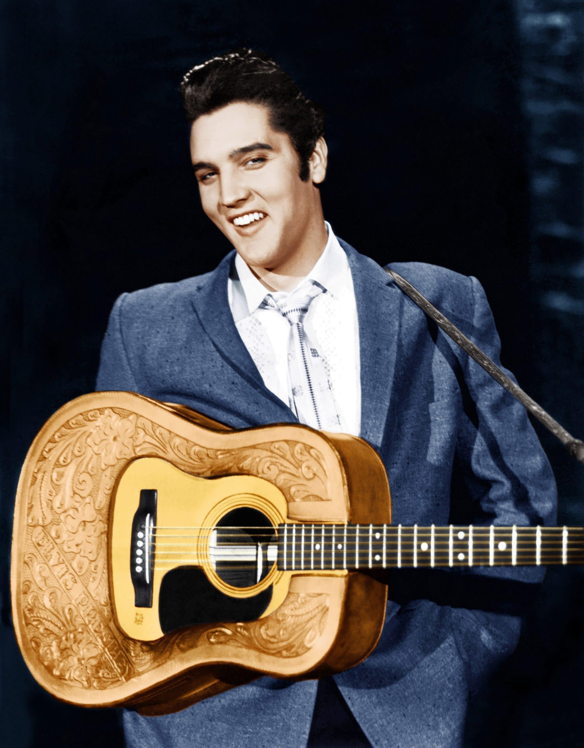 THE ED SULLIVAN SHOW, Elvis Presley