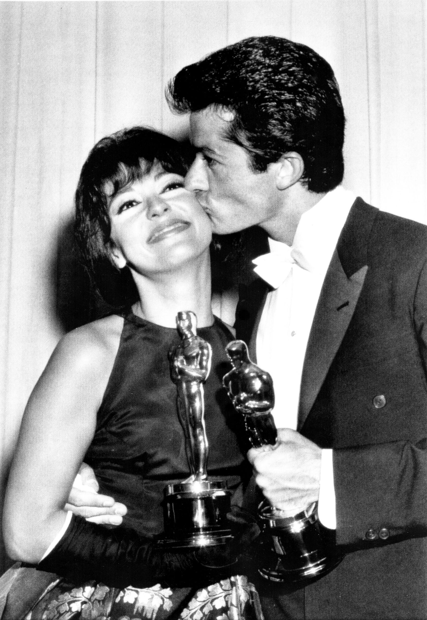 WEST SIDE STORY Oscar winners Rita Moreno, left, and George Chakiris