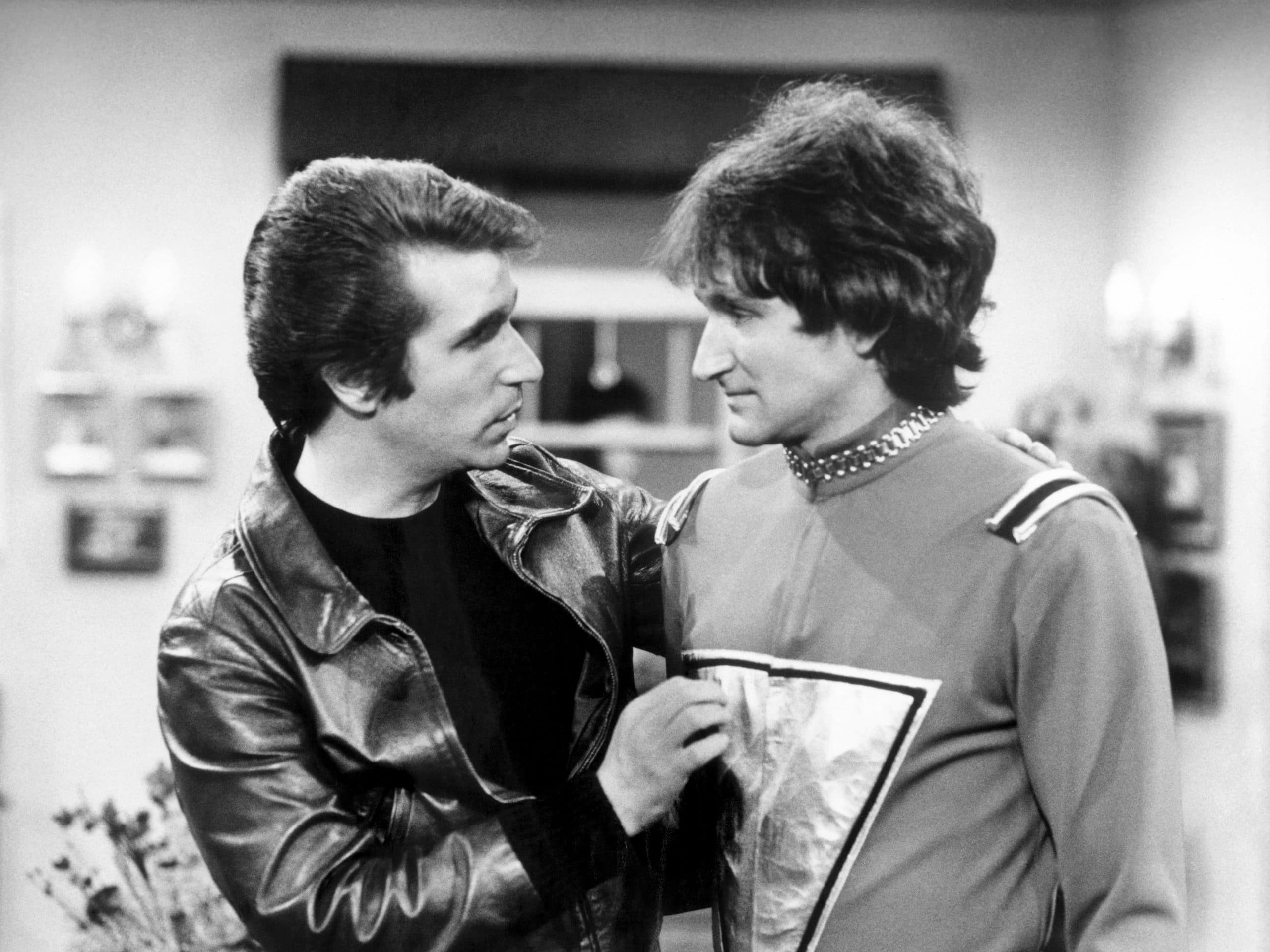 MORK AND MINDY, Henry Winkler, Robin Williams, 'Pilot'