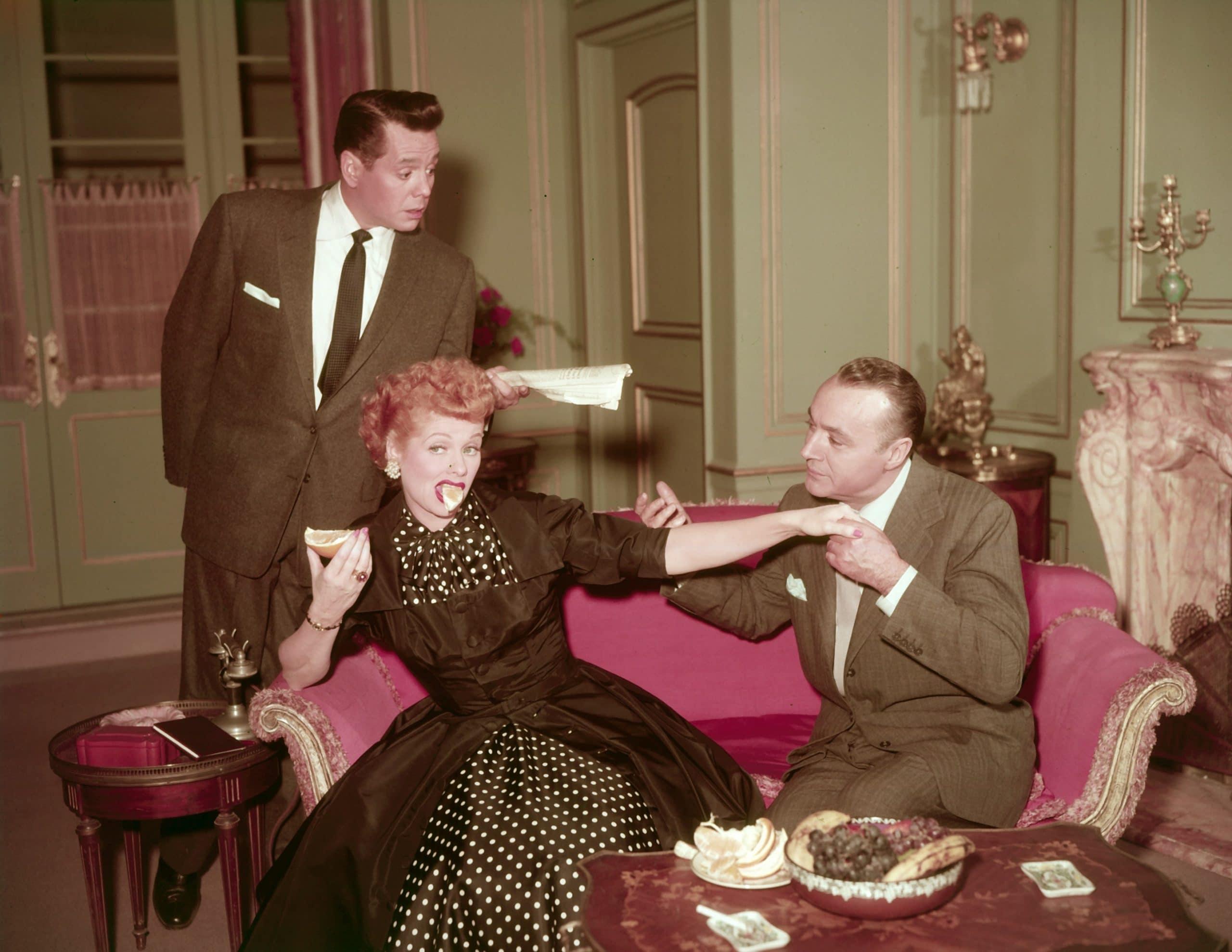 I LOVE LUCY, Desi Arnaz, Lucille Ball, Charles Boyer
