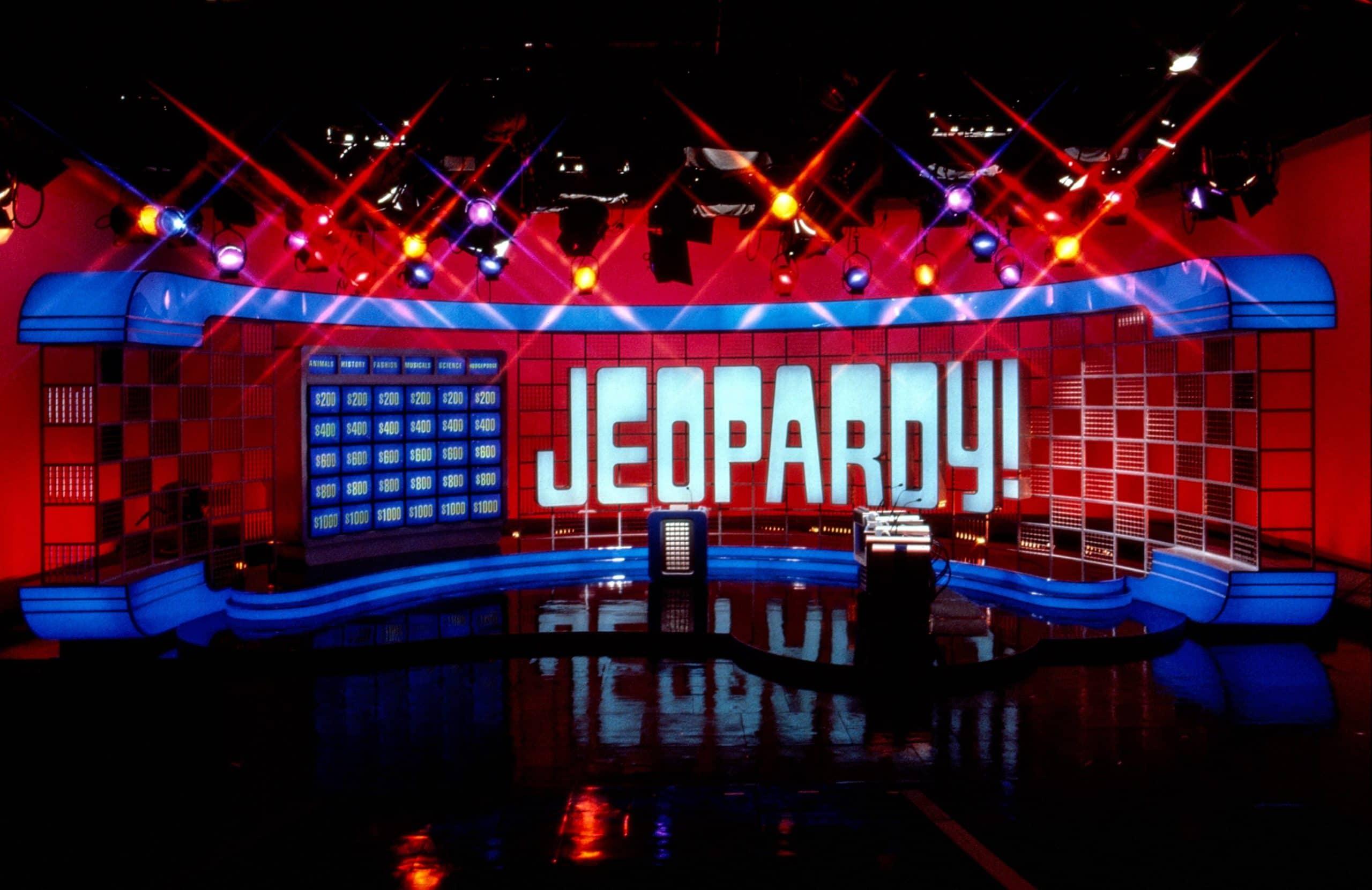 JEOPARDY!, Jeopardy set (2003), 1984-, ©ABC