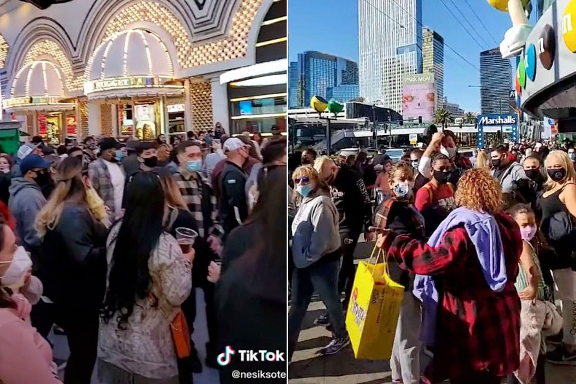 Las Vegas Sees Massive Crowds After Casinos Open To 50 Percent Capacity