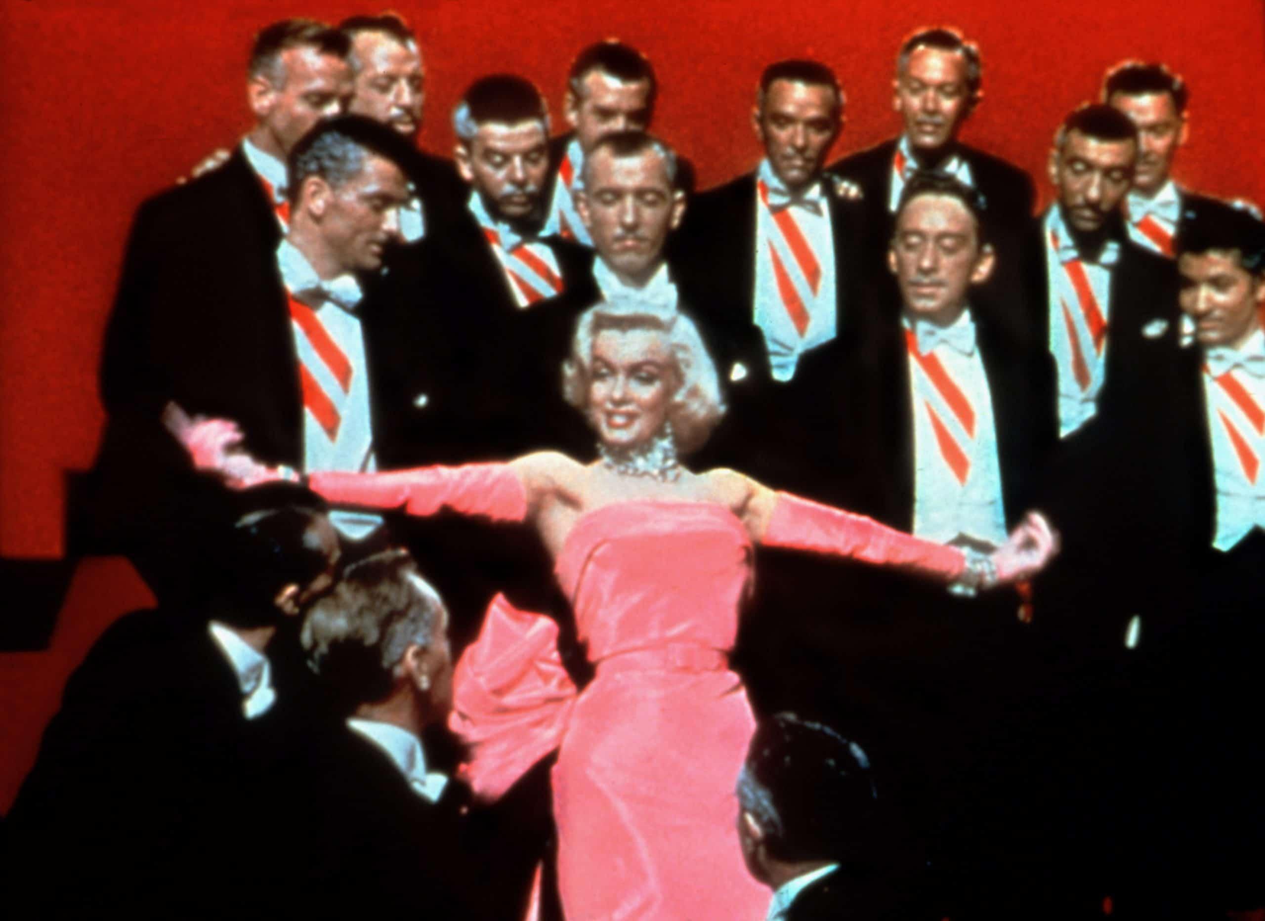 GENTLEMEN PREFER BLONDES, Marilyn Monroe, George Chakiris
