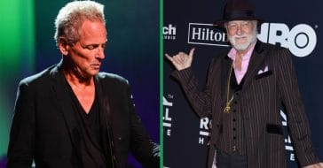 mick fleetwood reconciled with lindsey buckingham