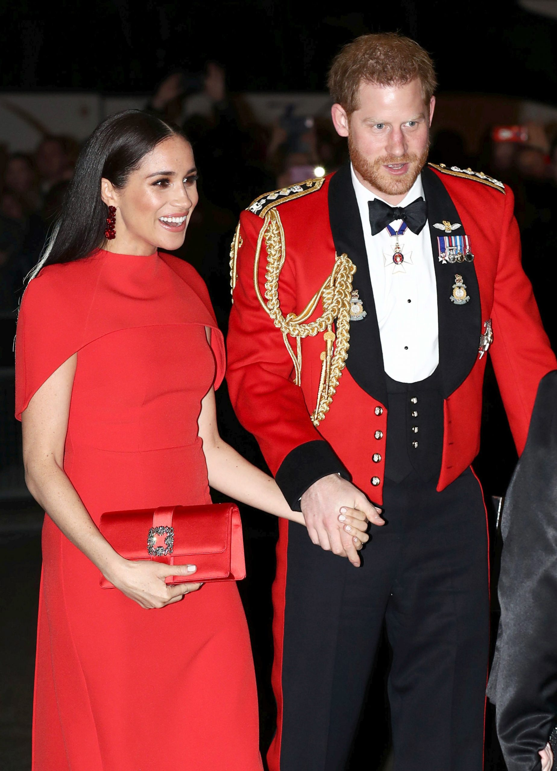 Prince Harry Duke of Sussex and Meghan Markle
