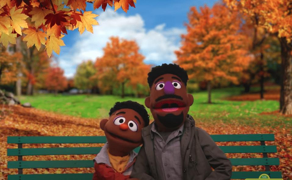 sesame street two black muppets discuss racial literacy wes elijah