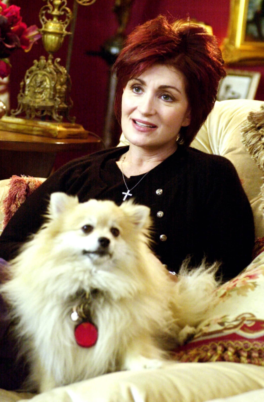sharon osbourne the osbournes dog minnie