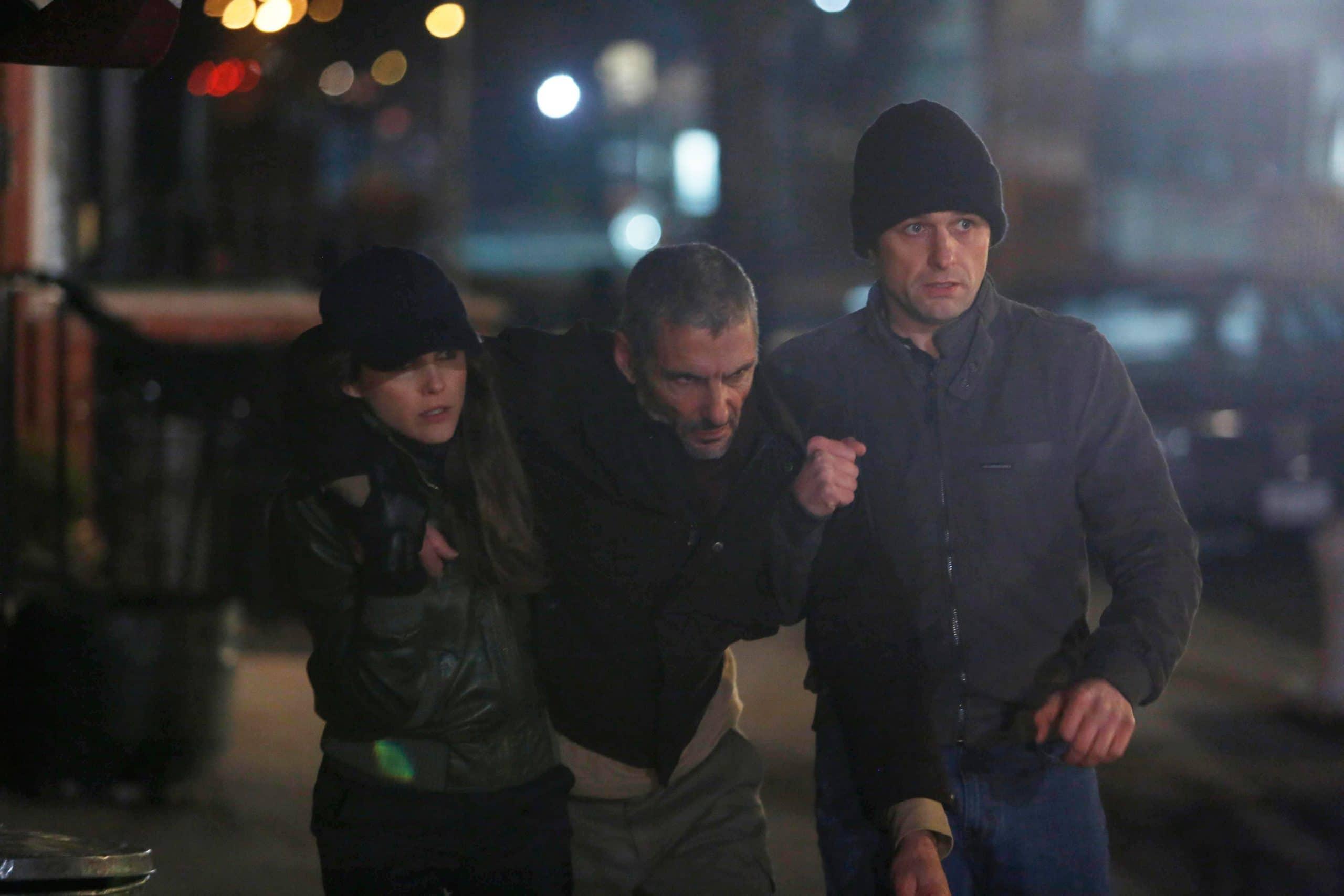 THE AMERICANS, (from left): Keri Russell, Cliff Mark Simon, Matthew Rhys