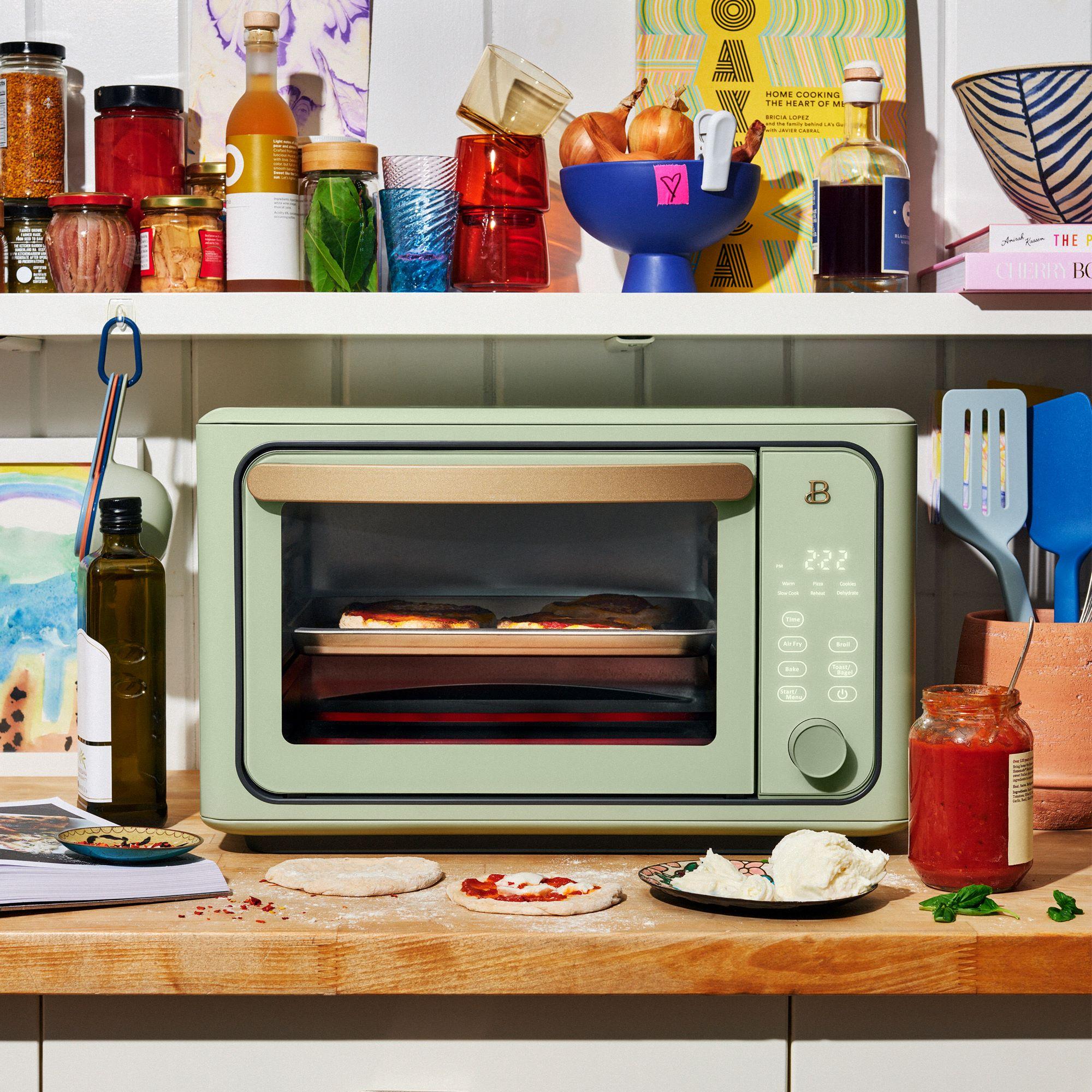 retro toaster oven drew barrymore walmart